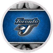 Toronto Blue Jays Round Beach Towel