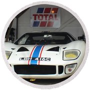 Total Ford Gt 40 Round Beach Towel
