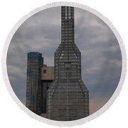 Tower Round Beach Towel