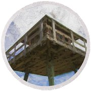 Towerview Round Beach Towel