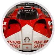 Toyota Gt1 Venture Safenet Round Beach Towel