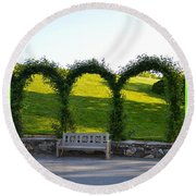 Tranquil Moment Round Beach Towel