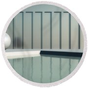 Tranquil Seclusion Round Beach Towel
