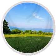 Tranquility Round Beach Towel