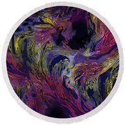 Transitions Round Beach Towel