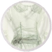 Transparent Round Beach Towel