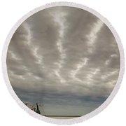 Trawler 2am-109703 Round Beach Towel