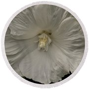 Tree Flower Round Beach Towel