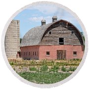 Tremonton Barn Round Beach Towel