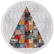 Triangle Crystals Showcasing Navinjoshi Gallery Art Icons Buy Faa Products Or Download For Self Prin Round Beach Towel