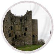 Trim Castle - Ireland Round Beach Towel