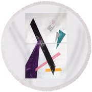 Trio Round Beach Towel