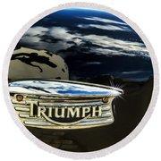 Triumph Round Beach Towel