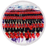 Trooping The Colour Round Beach Towel