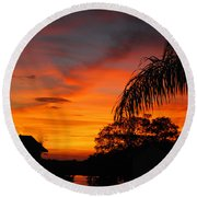 Tropica Royale Round Beach Towel