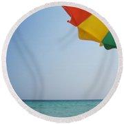 Tropical Breeze Round Beach Towel