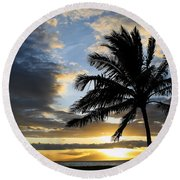 Tropical Dreams Round Beach Towel