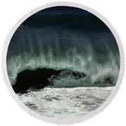 Tropical Storm Marie 1 Round Beach Towel