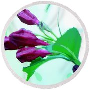 True Love - Beautiful Painting Like Photographic Image Round Beach Towel