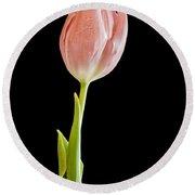 Tulip Beauty Round Beach Towel