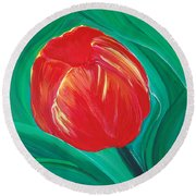 Tulip Diva By Jrr Round Beach Towel by First Star Art