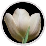 Tulip #2 Round Beach Towel