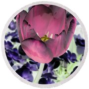 Tulips - Perfect Love - Photopower 2028 Round Beach Towel