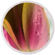 Tulips - Perfect Love - Photopower 2029 Round Beach Towel