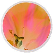 Tulips - Perfect Love - Photopower 2033 Round Beach Towel