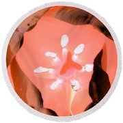 Tulips - Perfect Love - Photopower 2039 Round Beach Towel