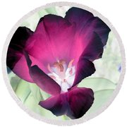 Tulips - Perfect Love - Photopower 2042 Round Beach Towel