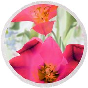 Tulips - Perfect Love - Photopower 2045 Round Beach Towel
