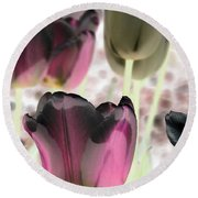 Tulips - Perfect Love - Photopower 2066 Round Beach Towel