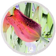 Tulips - Perfect Love - Photopower 2077 Round Beach Towel