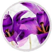 Tulips - Perfect Love - Photopower 2081 Round Beach Towel