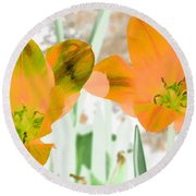 Tulips - Perfect Love - Photopower 2083 Round Beach Towel