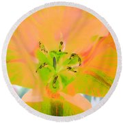 Tulips - Perfect Love - Photopower 2085 Round Beach Towel