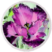 Tulips - Perfect Love - Photopower 2093 Round Beach Towel