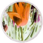 Tulips - Perfect Love - Photopower 2105 Round Beach Towel