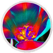 Tulips - Perfect Love - Photopower 2155 Round Beach Towel