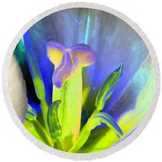 Tulips - Perfect Love - Photopower 2158 Round Beach Towel
