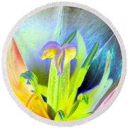 Tulips - Perfect Love - Photopower 2161 Round Beach Towel
