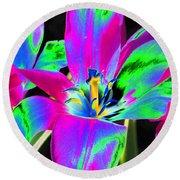 Tulips - Perfect Love - Photopower 2175 Round Beach Towel