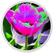 Tulips - Perfect Love - Photopower 2190 Round Beach Towel