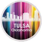 Tulsa Ok 2 Round Beach Towel