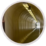 Tunnel To The Berkeley Pit Round Beach Towel