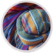 Turkish Cap Round Beach Towel