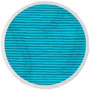 Turquoise Cloth Round Beach Towel