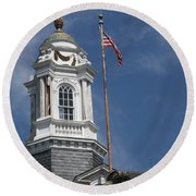 Turret Main Post Office Annapolis Round Beach Towel