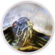Turtle Round Beach Towel